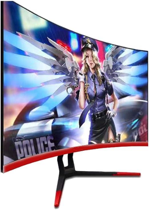 HAOXUAN Pantalla LED Pantalla ultradelgada de 27 Pulgadas Full HD (1920 x 1080) de 75 Hz, con Puertos de Entrada HDMI y VGA para el hogar y la Oficina, Respuesta de 2 ms: Amazon.es: Hogar