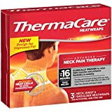 ThermaCare Air-Activated Neck, Wrist, & Shoulder Pain Therapy Heatwraps (3-Count, Pack of 3)