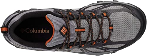 Columbia Homme Chaussures Multisport, Imperméable, PEAKFREAK XCRSN II XCEL LOW OUTDRY, Taille 40.5, Gris (TI Grey Steel, Bright Copper)