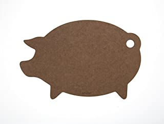 product image for Epicurean Cutting Surfaces Novelty Series Cutting Board, Pig, Nutmeg