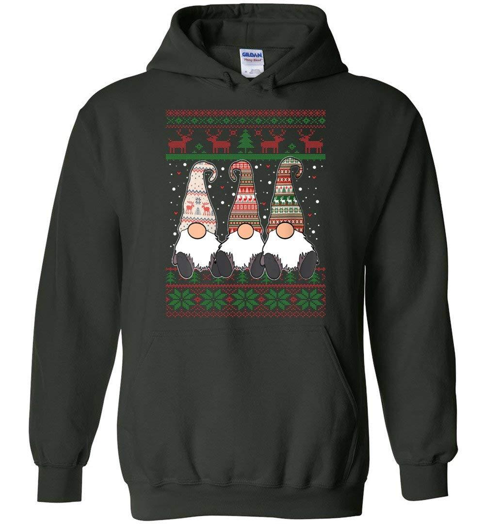 Three Nordic Gnomes Winter Christmas Swedish Tomte Elves Best Gift Idea Christmas Shirts