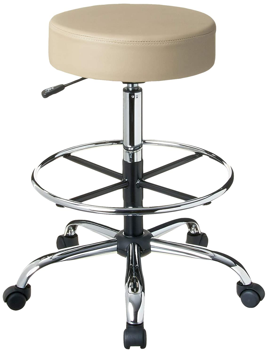 B004I3XV9M Boss Office Products Be Well Medical Spa Drafting Sool in Beige 612zk1hvU4L