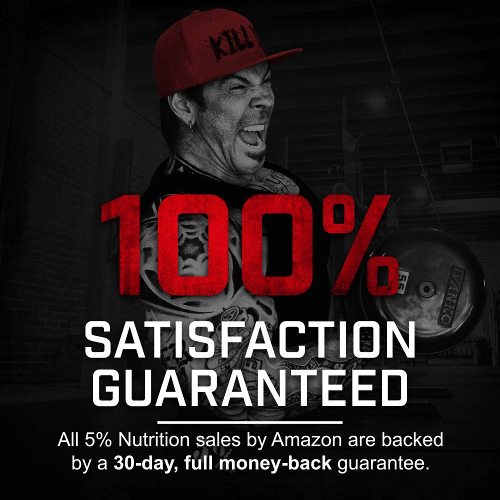 Rich Piana 5% Nutrition KILL IT Pre Workout (Fruit Punch) 12.17oz (345g) 30 Servings by 5% Nutrition (Image #3)