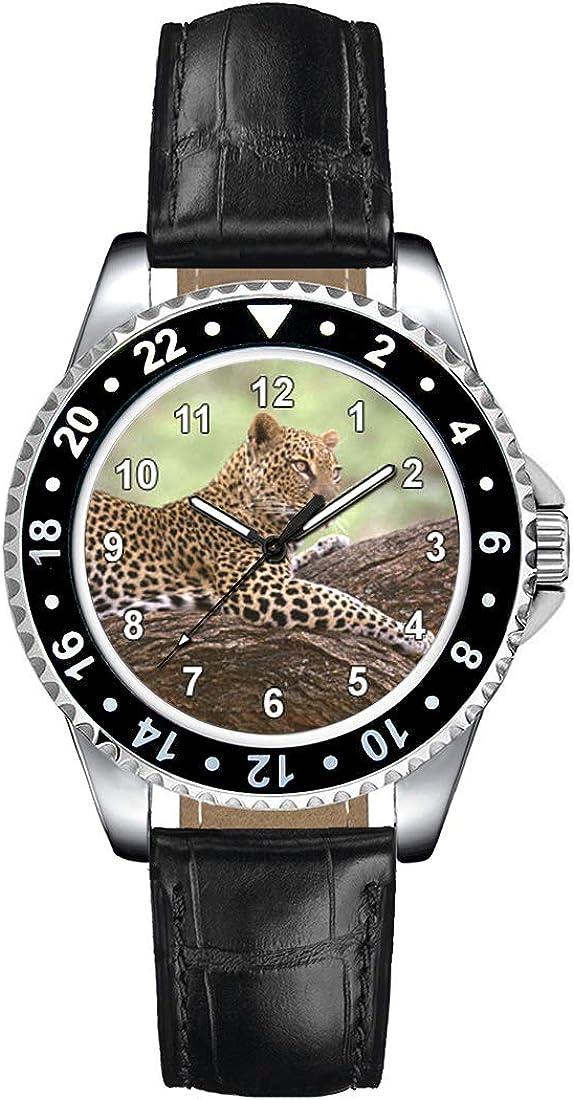 Timest - Jaguar - Reloj para Mujer con Correa de Cuero Negro CSE058LB