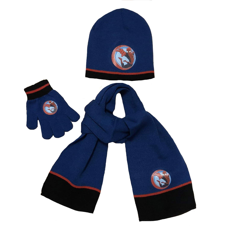 Cappello Sciarpe Guanti Spiderman Bambino Inverno 2019 ff9f6b64c0cf
