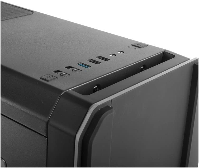 Nox Hummer MC Black - NXHUMMERMCB - Caja PC, Color Negro Nero