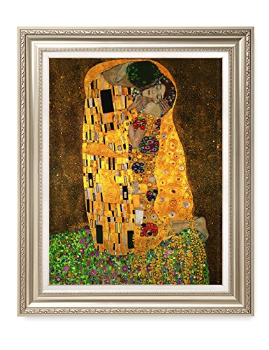 DecorArts - The Kiss, by Gustav Klimt. Giclee Print& Museum Quality Framed Art for Wall Decor. 24x30'', Frame size: 30x36'' by DECORARTS