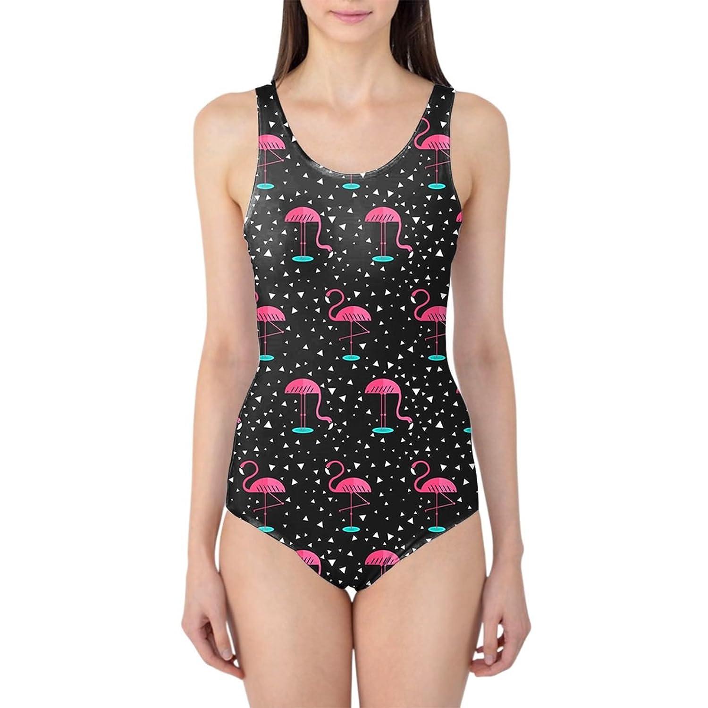 Pink Flamingos Women's Swimsuit Badeanzug XS-3XL