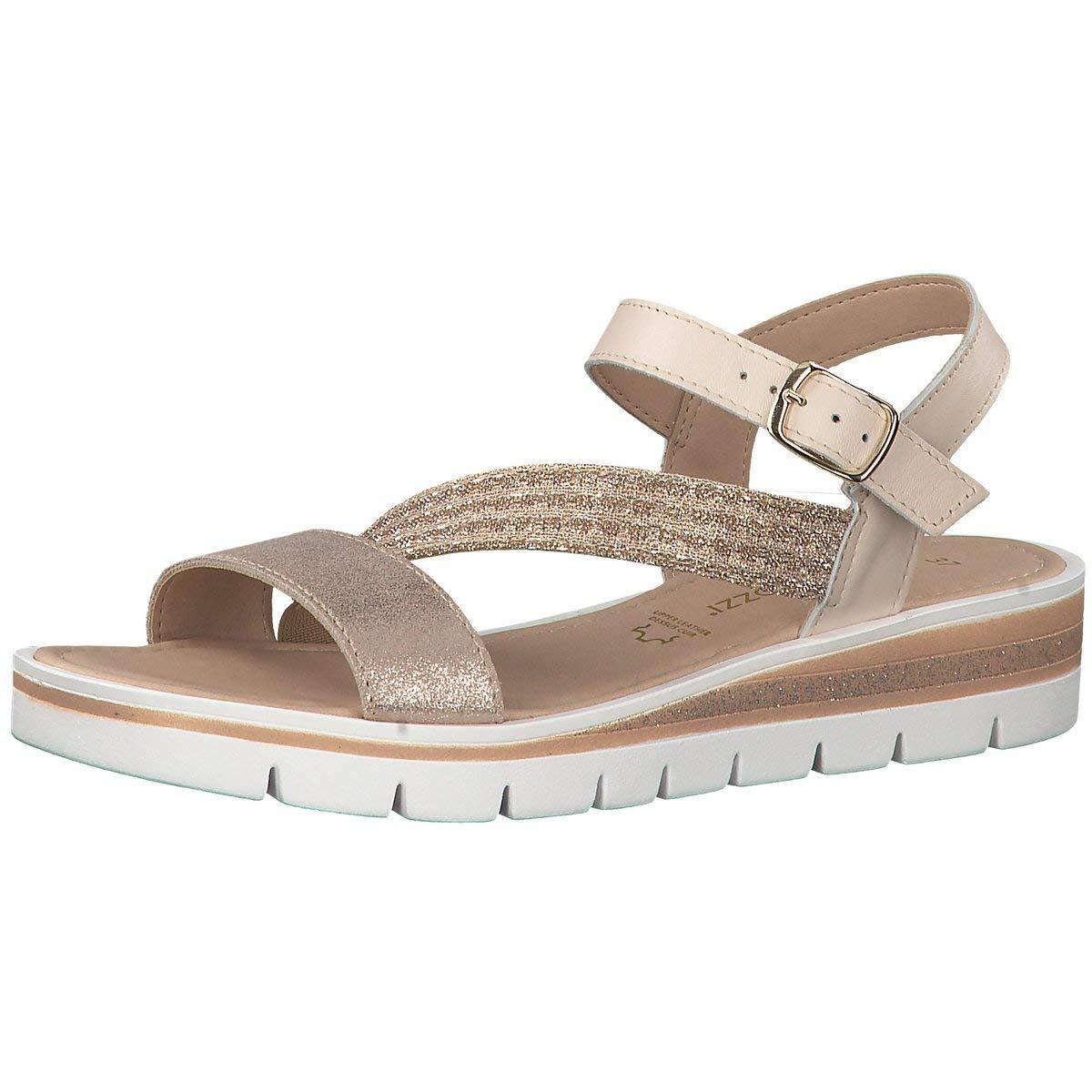 MARCO TOZZI Damen Sandaletten Sandalette 2-2-28636-22-532 Rosa Rosa Rosa 605567 e2af82