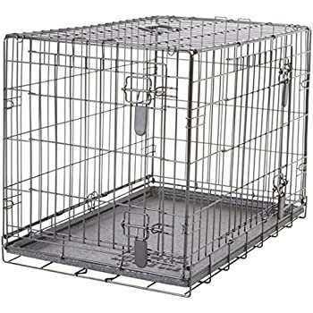 Amazon Com Dogit 2 Door Wire Home Crate With Divider