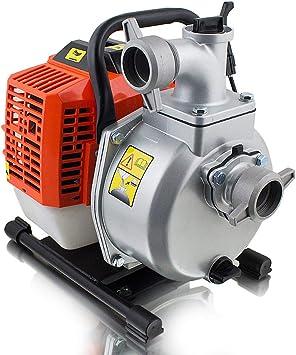 Bituxx 1 7 Ps Benzin Wasserpumpe Motorpumpe Garten Benzinwasserpumpe Gartenpumpe Wasser Pumpe Pumphohe 35m Ansaughohe 8m Fordermenge 15m H Amazon De Baumarkt
