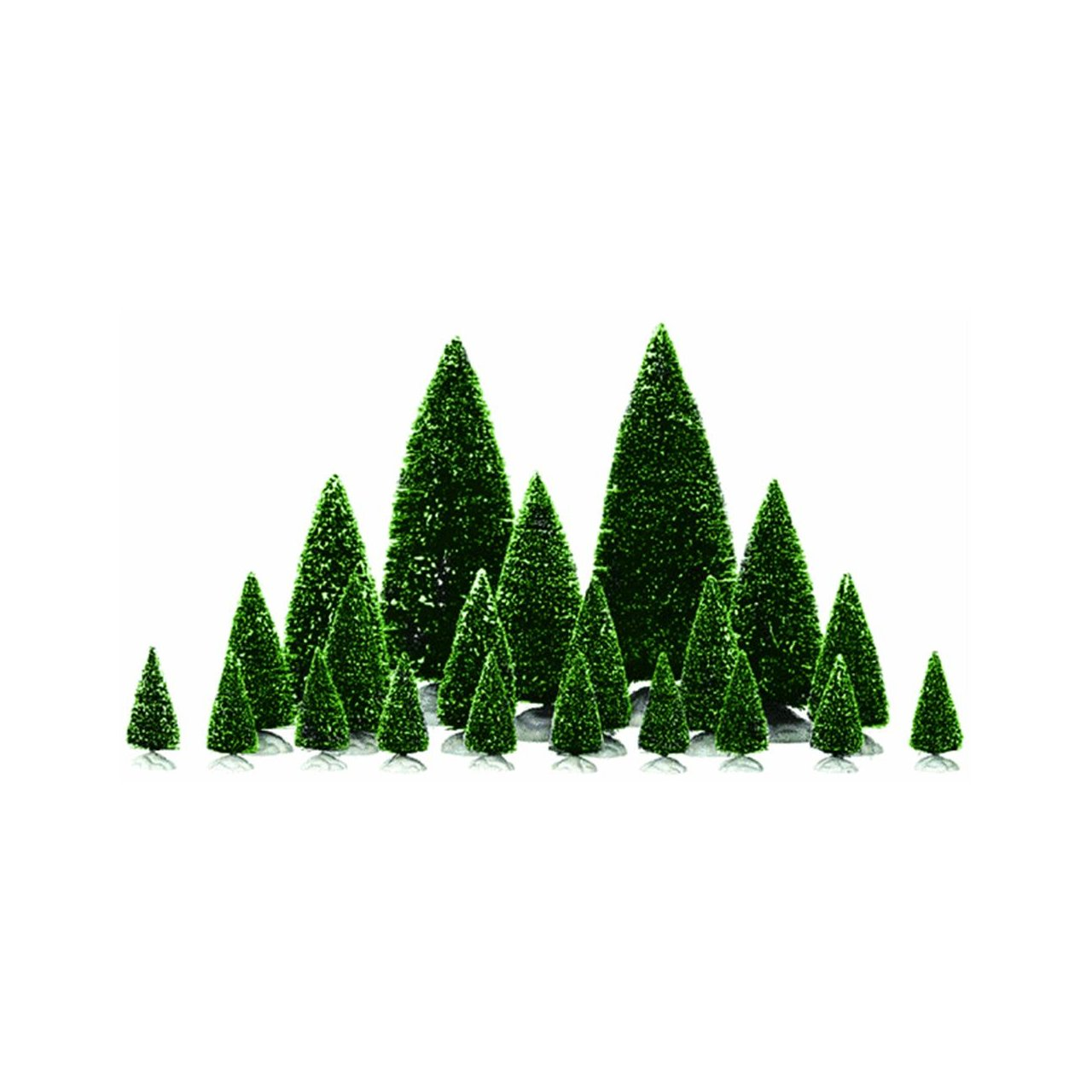 Amazon.com: Lemax Village Accessory Assorted Pine Trees: Home & Kitchen