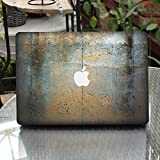 Lechely Decal Sticker for MacBook 3D Metal Texture Removable Vinyl Protector Decal Stickers Skin For MacBook Pro 13 Inch 13017014