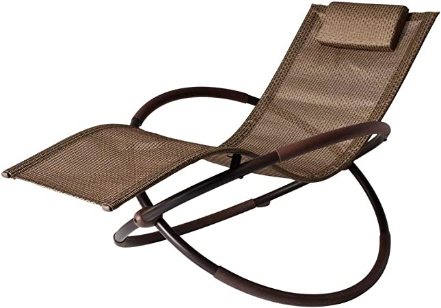 Tommy Bahama Outdoor Cushions, Amazon Com Bali Wave Rocking Chaise Lounge Garden Outdoor