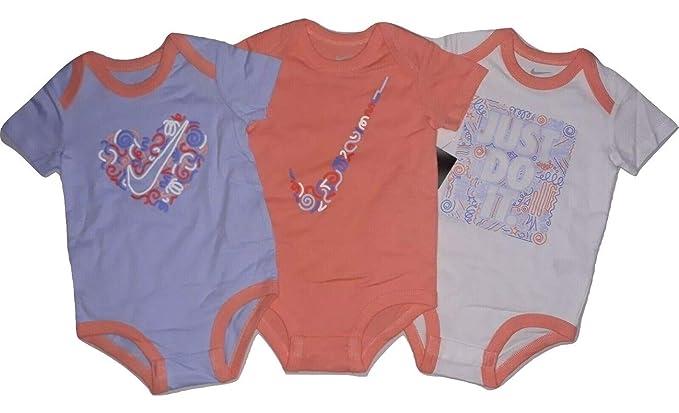 Baby Nike Swoosh Three-Piece Infant Baby Bodysuit Set Clothing