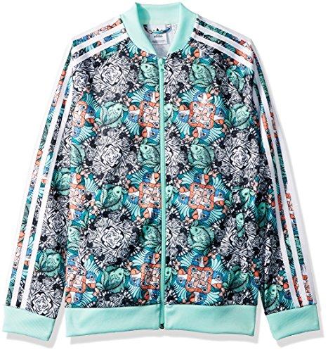 Adidas Tracktop white Girls' Originals Mint Zooanimal Xs Little Print Multi Superstar clear wO4Bwq