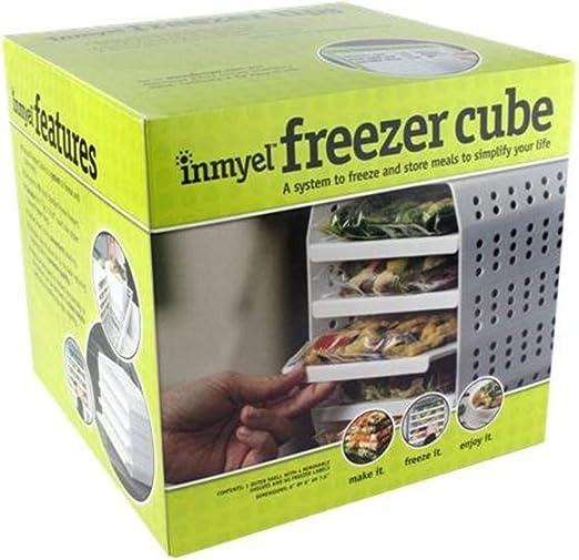Cubo de congelador, un sistema para congelar y almacenar comidas ...