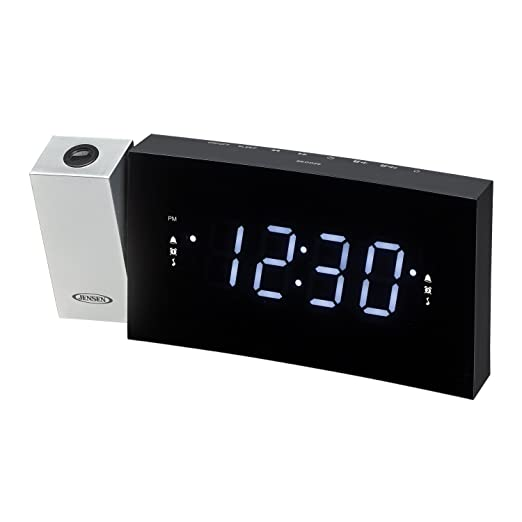 Amazon.com: Jensen Radio Despertador negro (jcr-238 ...