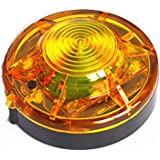 Tumecos Emergency Flare Alert Warning Signal Caution Light LED Beacon Pro with Magnetic Base for Vehicle (Yellow 1)