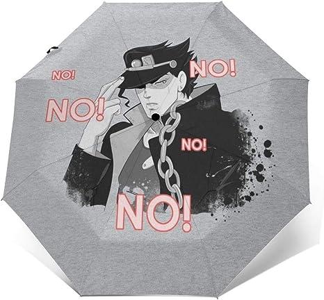 NOT Jo-Jos Bizarre Adventure Automatic Tri-fold Umbrella