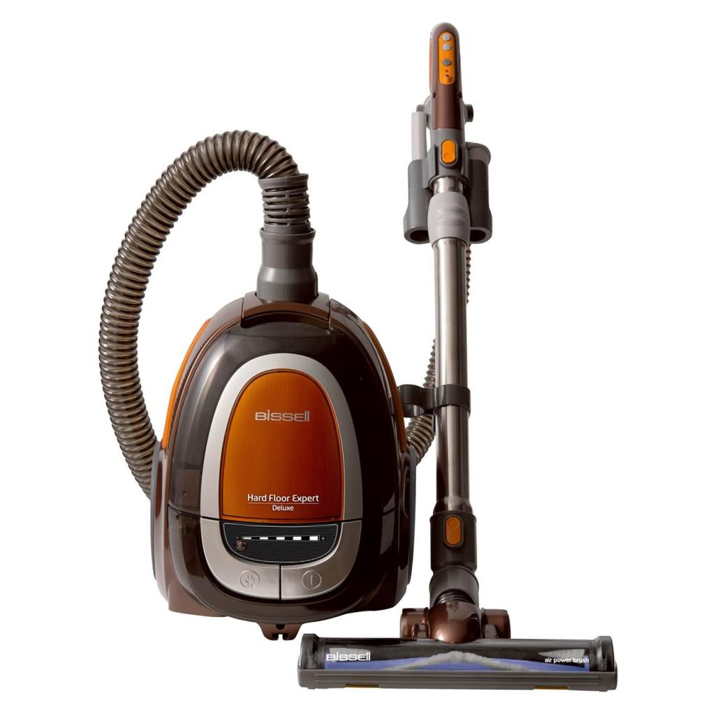 Tank Vacuum Cleaners: Bissell Vacuum Cleaner Hard Floor Expert Deluxe Canister