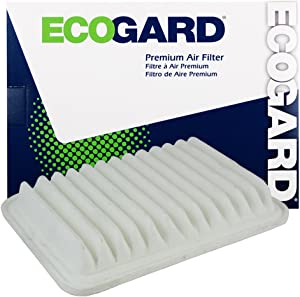 ECOGARD XA5655 Premium Engine Air Filter Fits Pontiac Vibe 1.8L 2009-2010 | Scion xD 1.8L 2008-2014, iM 1.8L 2016 | Toyota Corolla 1.8L 2009-2019, Yaris 1.5L 2006-2018, Matrix 1.8L 2009-2014
