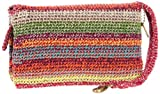 The SAK Classic Double Zip Wristlet,Gypsy Stripe,One Size, Bags Central