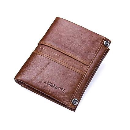 926f3b2d0249 Amazon.com: Monkibag-MW Men's Purse Multifunction Leather Wallets ...