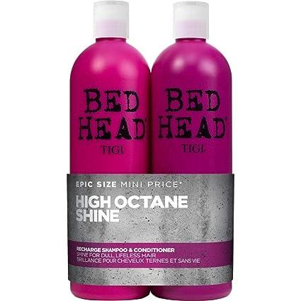 completo nelle specifiche vendita ufficiale più vicino a Bed Head by Tigi Recharge High Shine Shampoo and Conditioner, 750 ml, Pack  of 2