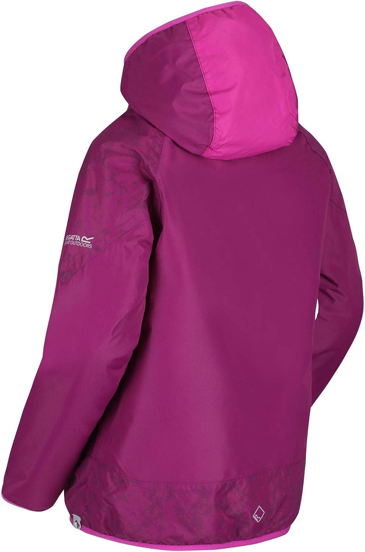 isolierte Jacke Regatta Kinder Volcanics Iii Reflective Waterproof Jacket wasserdichte