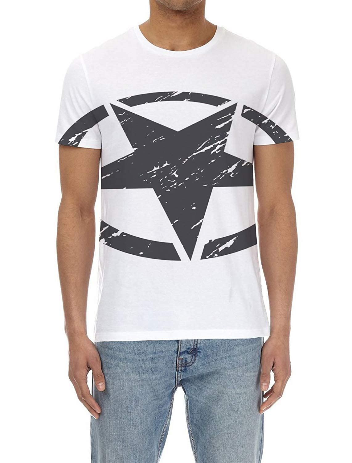 72b02e55d Amazon.com: Olivefox Men's 3D Digital Printed Personalized Short Sleeve T- Shirt Graphic Tees: Clothing