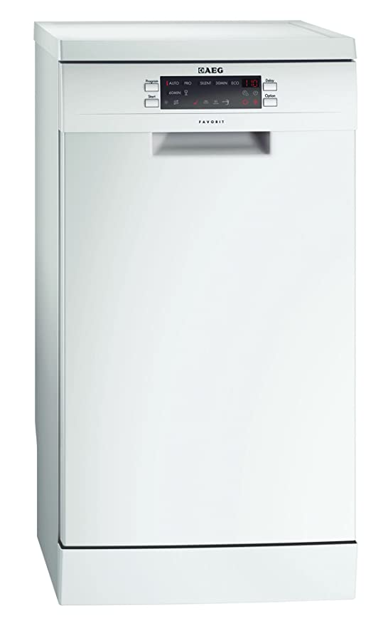 AEG F77452W0P - Lavavajillas (A + + +, 0.62 kWh, 8.5 L, 446 mm ...