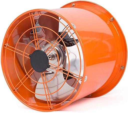 12 pulgadas Ventilador de escape, 120W extractor de aire