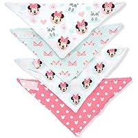 Disney Minnie Mouse - Babero, diseño de Minnie Mouse, multicolor