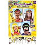 Hippy Photo Booth Prop Kit Professional Groovy Party Photos Fancy Dress 60s 70s Hippie Flower Power Accessory