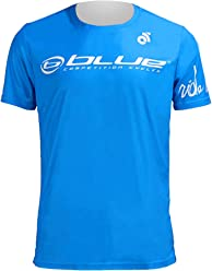 Blue Short Sleeve Running Light-weight T-Shirt (I'mpossible logo on the back)