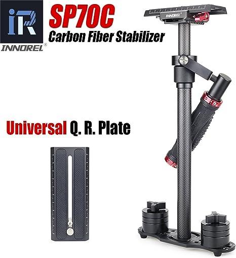 innorel SP70 C Handheld Estabilizador de la cámara de fibra de ...