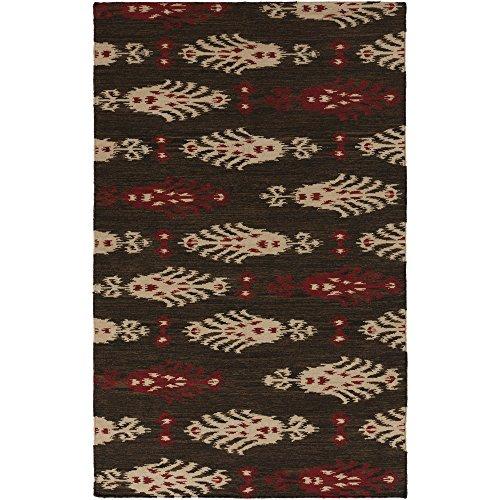 Surya Frontier FT-326 Flatweave Hand Woven 100% Wool Burnt Sienna 3'6