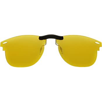 4790eaa2911 ... shop custom fit polarized clip on sunglasses for ray ban rb3016 51x21  hd yellow e071a 818c3