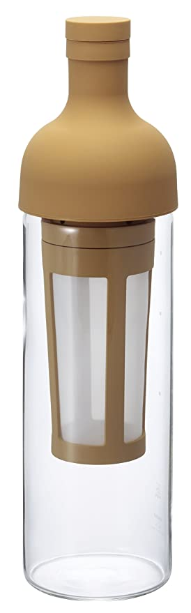 Hario Cold Brew Iced Coffee Filter in Bottle (650ml, Mocha) Coffee, Tea & Espresso at amazon