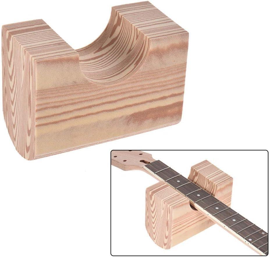 Doolland Guitarra Soporte para el cuello Almohada Soporte Material ambiental EVA Herramienta Luthier para guitarra acústica eléctrica Bajo