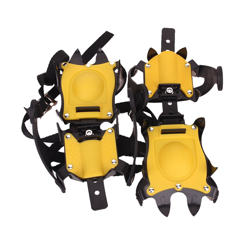 Anti-Slip Ice/Snow Boot Shoe Covers Crampons Ice Cleats Gripper Climbing  Walking: Amazon.ca: Sports & Outdoors