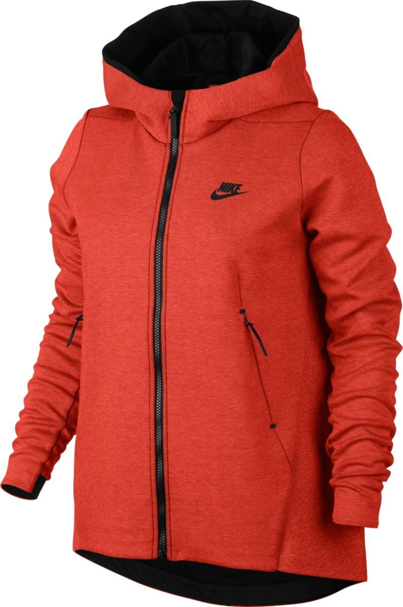 Max Nike Orange Sportswear Tech 852 Heather Fleece Womens 831709 xFBFq4Yw