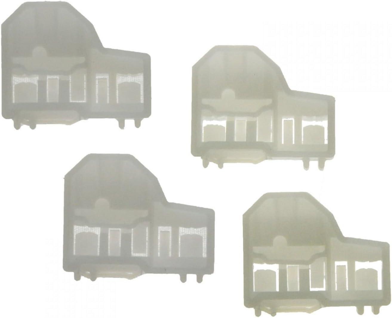 Window Regulator Guide Clip Set of 4 for Pontiac Grand Am Olds Cutlass Alero