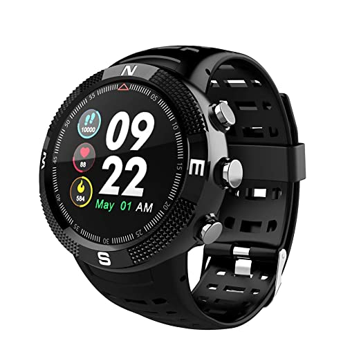 QLPP Smartwatch Reloj Deportivo para Hombre Mujer Bluetooth ...