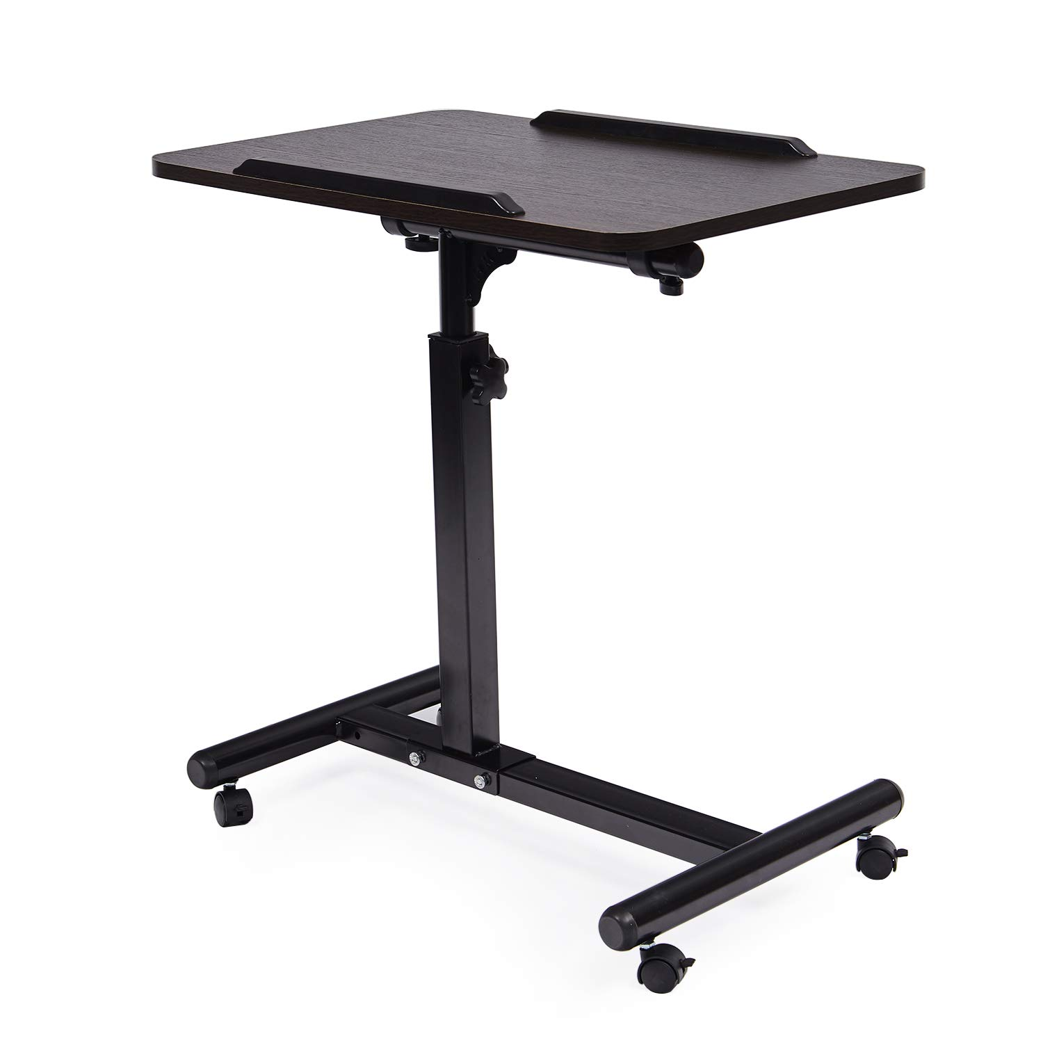 McNeil Laptop Table Height Adjustable Laptop Stand Moveable Notebook Stand, Black