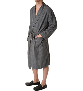 9bf4772fa6 Polo Ralph Lauren Mens Oxford PJ Robe at Amazon Men s Clothing store ...