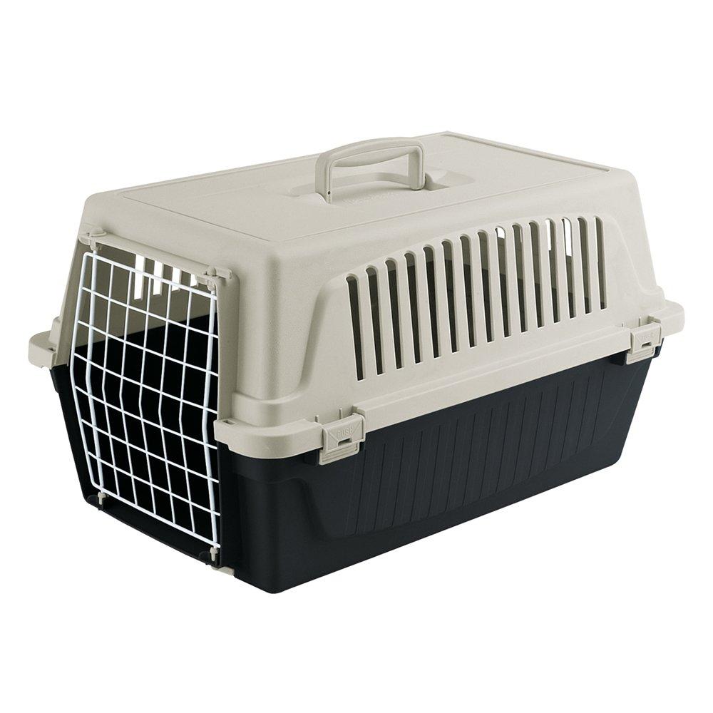 Ferplast Atlas 10EL, panier de Transport pour chats et Chiens, colori noir 73007199W2