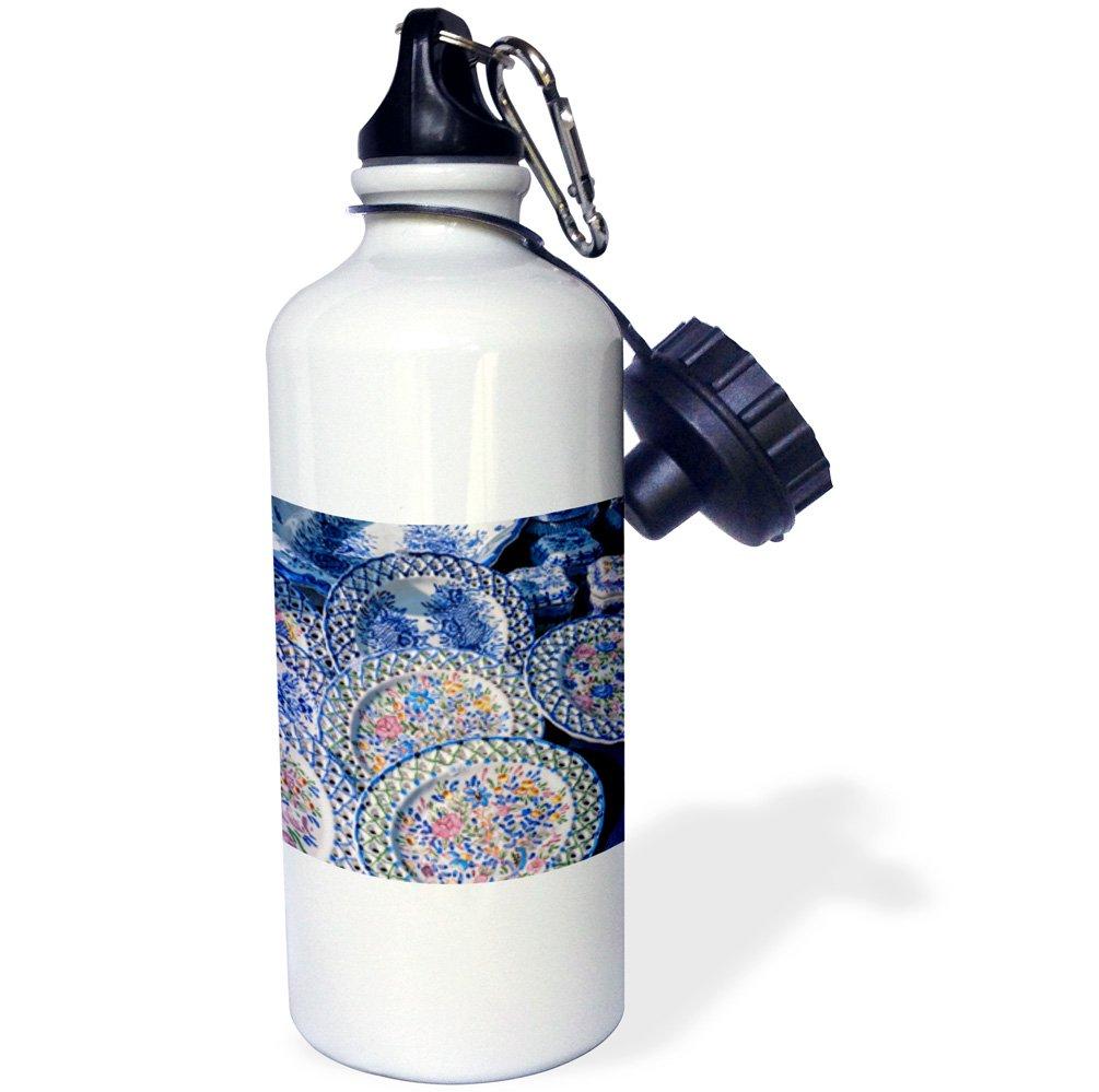 Wiltshire White 3dRose wb/_228025/_2Sunset Over Stonehenge England Straw Water Bottle