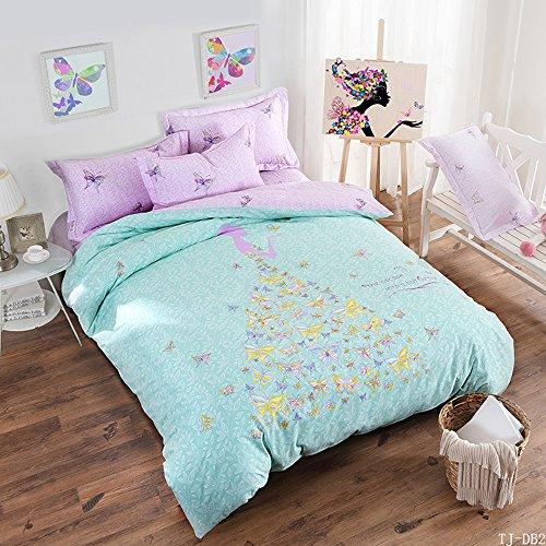 Kids Bedding Girls Childrens Cotton Duvet Cover Set